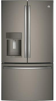GE Profile PFE28KMKES - GE Profile Series ENERGY STAR 27.8 cu. ft. French Door Refrigerator in Slate
