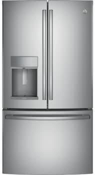 GE Profile PFE28K - GE Profile Series ENERGY STAR 27.8 cu. ft. French Door Refrigerator in Stainless Steel