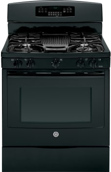 "GE Profile PGB920DEFBB - 30"" Freestanding Gas Range with 5 Sealed Burners"