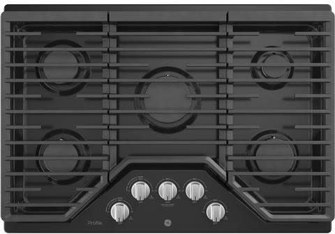 GE Profile PGP7030DLBB - Black Cooktop