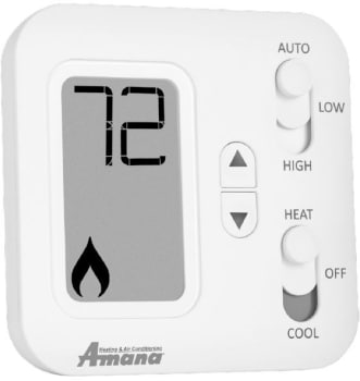 Amana PHWTA150H Non Programmable Thermostat With 2 Stage Heat 1