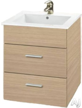 Empire Industries Daytona Collection WD2F2420POS - Pickled Oak, Satin Finish