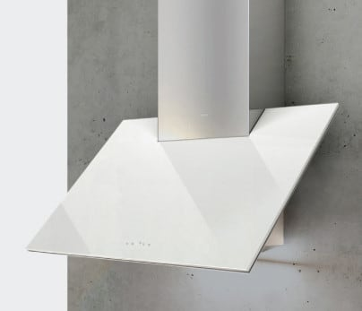 Zephyr Arc Plane Collection APNM90AWX - White Glass Canopy