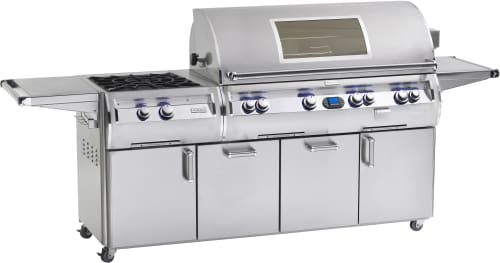 "Fire Magic Echelon Collection E1060S4LAN51W - 48"" Echelon Gas Grill with Side Power Burner and Magic View Window"
