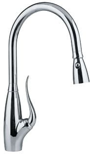 Franke FF2400R - Polished Chrome Pull Down Faucet