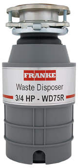 Franke WD75R - 3/4 Waste Disposer