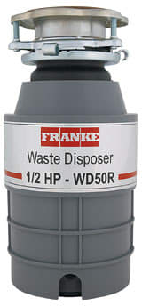 Franke WD50R - 1/2 HP Waste Disposer