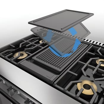 Viking 7 Series PQGDVGR2CI - Reversible Griddle/Grill