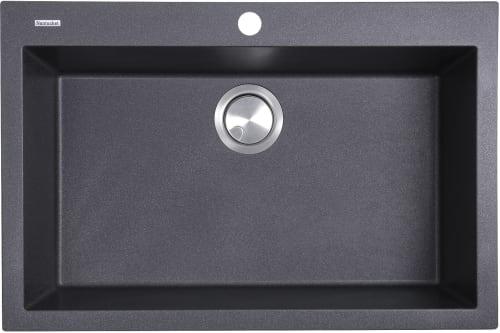 Nantucket Sinks PR3020DMBL 30 Inch Dual Mount Granite Composite ...