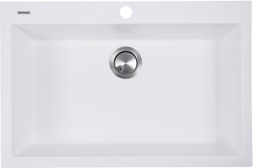 Nantucket Sinks Plymouth Collection Pr3020dmw White Top View