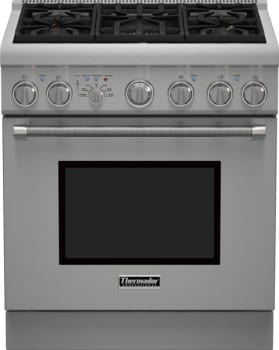 "Thermador Pro Harmony Professional Series PRD305PH - 30"" Dual Fuel Pro Harmony Range with 5 Burners and 4.4 cu. ft. Convection Oven"