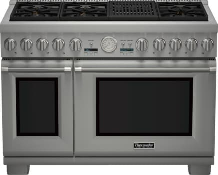"Thermador Pro Grand Professional Series PRD486NLGU - 48"" Dual Fuel Range with Professional Indoor Grill"