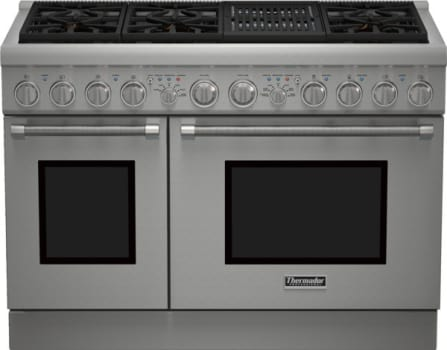 "Thermador Pro Harmony Professional Series PRD486NLHU - 48"" Dual Fuel Range with Professional Indoor Grill"
