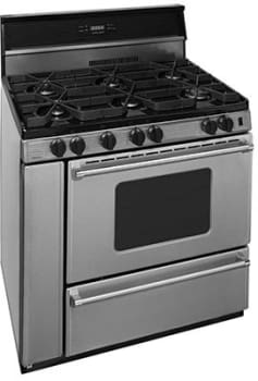 "Premier Pro Series P36S3482PS - 36"" Gas Range with 6 Sealed Burners"