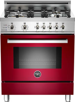 Bertazzoni Professional Series PRO304DFSVILP - Red Wine