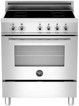 "Bertazzoni Professional Series PRO304INSX - 30"" Professional Series Induction Range"