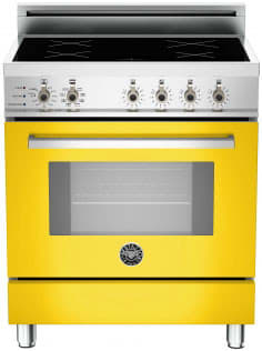 "Bertazzoni Professional Series PRO304INSGI - 30"" Professional Series Induction Range in Giallo Yellow"