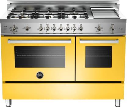 Bertazzoni Professional Series PRO486GGASGILP - Yellow
