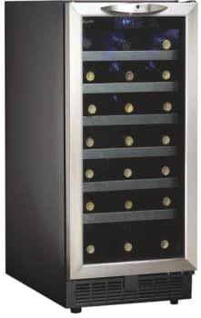 danby silhouette series dwc1534bls featured view - Built In Wine Cooler