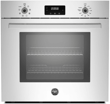 "Bertazzoni Professional Series PROFS30XV - Bertazzoni 30"" Single Electric Convection Wall Oven with 4.1 cu. ft. Capacity"