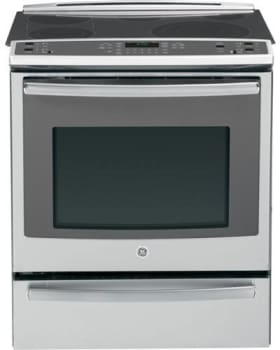 "GE Profile PS920SFSS - 30"" Slide-In Electric Convection Range with Warming Drawer"