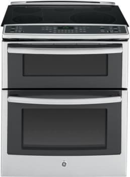 "GE Profile PS950SFSS - 30"" Slide-In Double Oven Electric Convection Range"