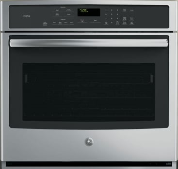 "GE Profile PT7050 - 30"" True European Convection Wall Oven in Stainless Steel"