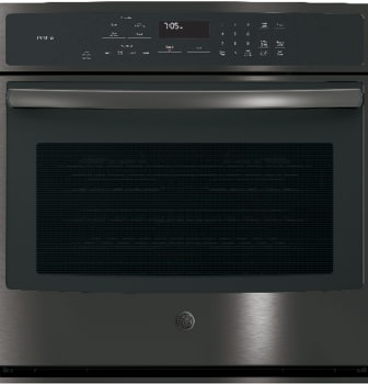 GE Profile PT7050BLTS - Black Stainless Steel Front View