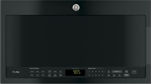 GE Profile PVM9005DJBB - GE Profile Series 2.1 cu. ft. Over-the-Range Sensor Microwave Oven