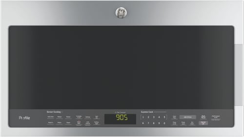 GE Profile PVM9005SJSS - GE Profile Series 2.1 cu. ft. Over-the-Range Sensor Microwave Oven