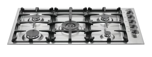 "Bertazzoni Master Series Q36M500X - 36"" Gas Cooktop with 5 Sealed Burners"