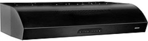 Broan Evolution QP2 Series QP236BL - Black Front View