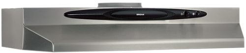 Broan Quiet Hood QT20000 Series QT242 - Stainless Steel Front View
