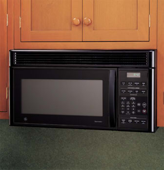 Ge Jvm1640bj 1 6 Cu Ft Over The Range Microwave Oven