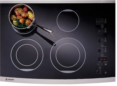 Monogram ZEU30RSFSS - Black with Stainless Steel Trim