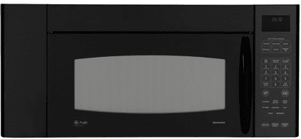 GE Profile Spacemaker Series JVM3670BFBB - Black