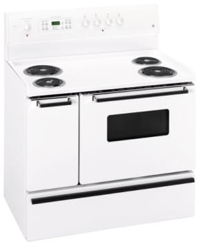 Ge Jcp67fww 40 Inch Electric Range With