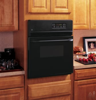 Ge Jrs06bjbb 24 Inch Single Electric Wall Oven With 2 7 Cu Ft