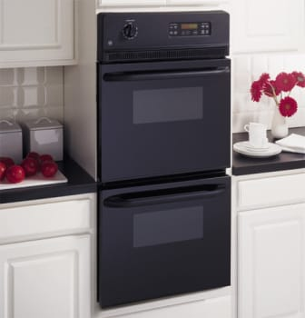 Ge Jrp28bjbb 24 Inch Double Electric Wall Oven With 2 7 Cu Ft
