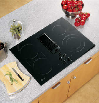 Ge Jp989bkbb 30 Inch Smoothtop Electric Cooktop With 4 Ribbon