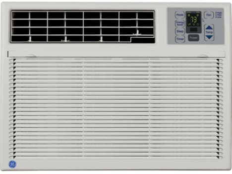 Ge Asm08ll 8 000 Btu Room Air Conditioner With 3 Cool 3 Fan Speeds Electronic Thermostat With Remote Control And 240 Cfm Air Circulation