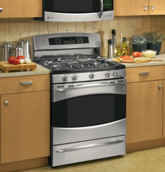 GE Profile PGB916 - Stainless Steel