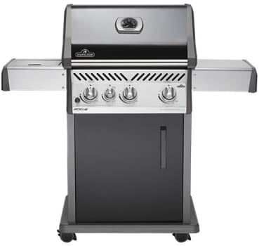 Napoleon Rogue Series R425 - Napoleon Rogue Series Gas Grill with Cart and Side Burner