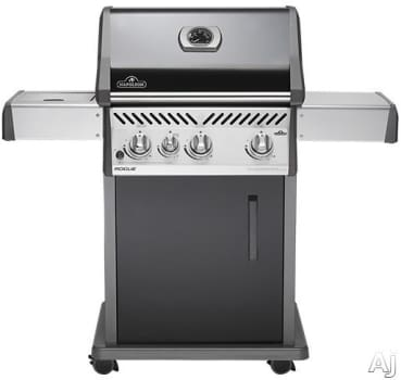 Napoleon Rogue Series R425SBPK - Napoleon Rogue Series Gas Grill with Cart and Side Burner