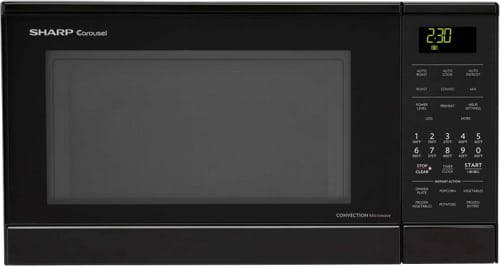 Sharp R830BK - 0.9 cu. ft. Convection Microwave Oven