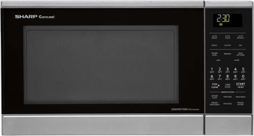 Sharp R830BS - 0.9 cu. ft. Convection Microwave Oven
