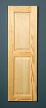 Iron-A-Way E46RMU - Raised Maple Door