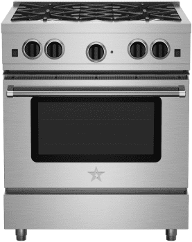 "BlueStar Culinary Series RCS30SBV2 - 30"" Culinary Series Range"