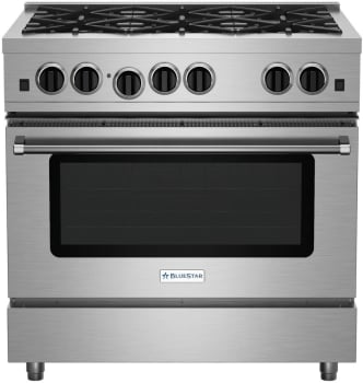 BlueStar Culinary Series RCS366BV2LP - Front View