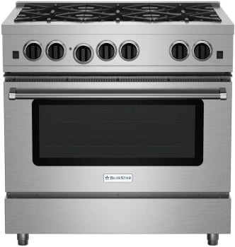 BlueStar Sealed Burner Series RCS36SBV2LP - Front View